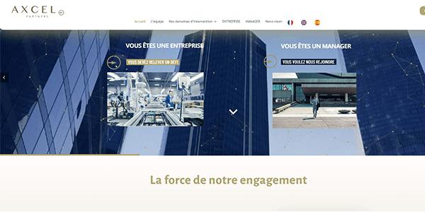 comeandcomm pour AXCEL Partners, management de transition